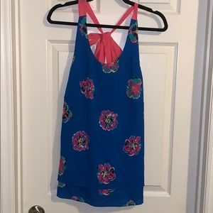 Lilly Pulitzer Tank with Bow on Back
